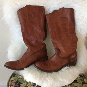 FRYE Carson Tab Tall Knee-High Boots